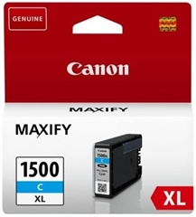 Kartuša Canon PGI-1500XL C (modra), original