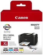 Komplet kartuš Canon PGI-1500XL (BK/C/M/Y), original