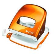 Luknjač Leitz 5008, metalik oranžna