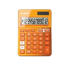 Kalkulator Canon LS-123K, oranžna