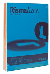 Barvni fotokopirni papir A3 mix, intenzivna mavrica