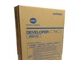 Developer Konica Minolta DV-614 (A3VX900) (modra), original