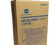 Developer Konica Minolta DV-614 (A3VX800) (škrlatna), original