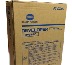 Developer Konica Minolta DV-614 (A3VX700) (rumena), original