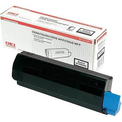 Toner OKI 42127457 (C5250) (črna), original
