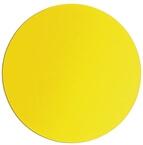 Podloga za miško, silikon, rumena