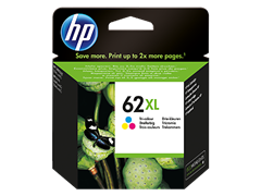 Kartuša HP C2P07AE nr.62XL (barvna), original