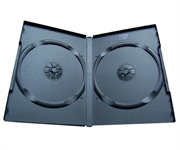 CD/DVD škatlica za 2 CD/DVD-ja, črna, 1 kos