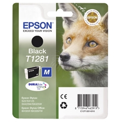 Kartuša Epson T1281 (črna), original
