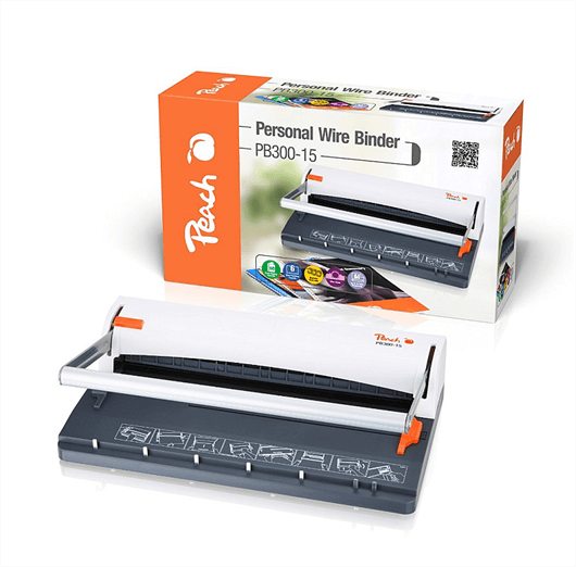 Aparat za špiralno vezavo (kovinska) Peach PB300-15