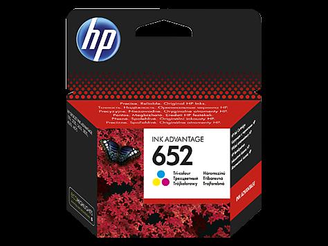 Kartuša HP F6V24AE nr.652 (barvna), original