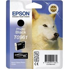 Kartuša Epson T0961 (foto črna), original