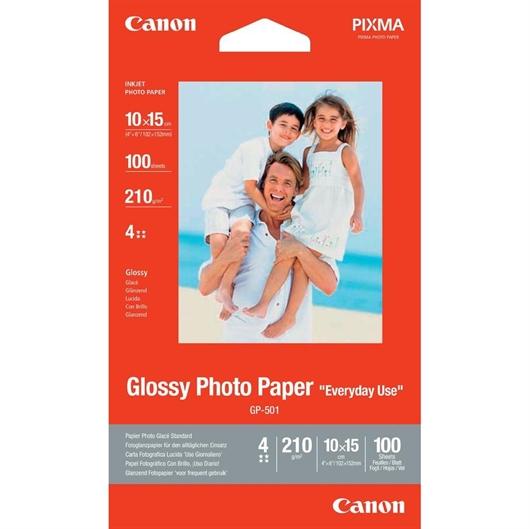 Foto papir Canon GP-501, A6, 100 listov, 200 gramov