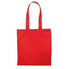 Vrečka bombažna Basic long, rdeča