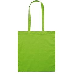 Vrečka bombažna Basic long, zelena