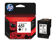 Kartuša HP C2P10AE nr.651 (črna), original