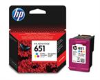 Kartuša HP C2P11AE nr.651 (barvna), original