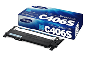 Poškodovana embalaža: toner Samsung CLT-C406S (modra), original