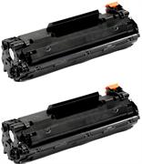 Komplet tonerjev za HP CF283A 83A (črna), dvojno pakiranje, kompatibilen