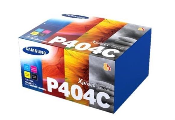 Komplet tonerjev Samsung CLT-P404C (SU365A) (BK/C/M/Y), original