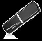 USB ključ Transcend, 32 GB, črna