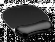 Podloga za miško z gel vložkom Fellowes, Crystal™ Gel, črna
