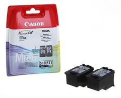 Komplet kartuš Canon PG-510 + CL-511, original