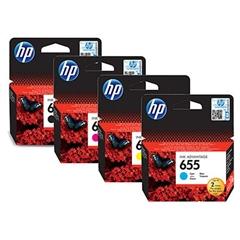 Komplet kartuš HP nr.655 (BK/C/M/Y), original