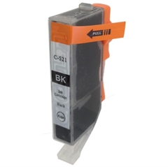 Kartuša za Canon CLI-521BK (črna), kompatibilna