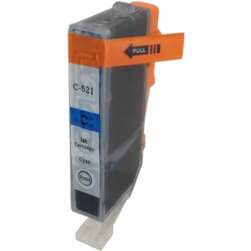 Kartuša za Canon CLI-521C (modra), kompatibilna