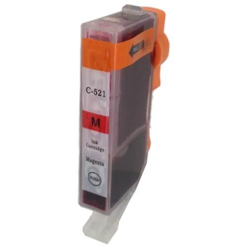 Kartuša za Canon CLI-521M (škrlatna), kompatibilna