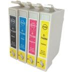 Komplet kartuš za Epson T0715 (BK/C/M/Y), kompatibilen