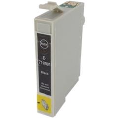 Kartuša za Epson T0711 (črna), dvojno pakiranje, kompatibilna