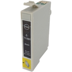Komplet kartuš za Epson T0711 (črna), 5 kosov, kompatibilen