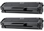 Komplet tonerjev za Samsung MLT-D101S (črna), dvojno pakiranje, kompatibilen