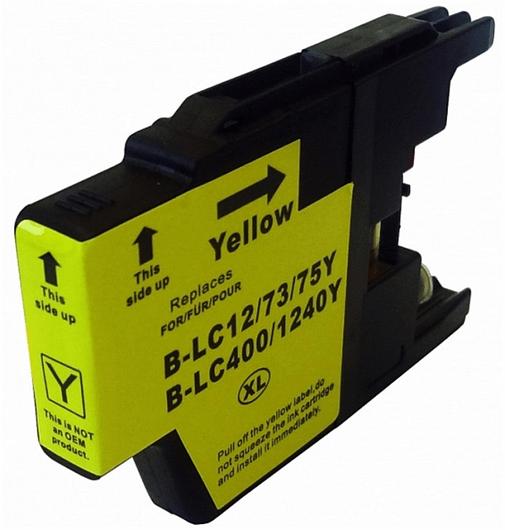 Kartuša za Brother LC1280XLY/LC1240 (rumena), kompatibilna