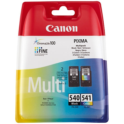 Komplet kartuš Canon PG-540 (črna) + CL-541 (barvna), original