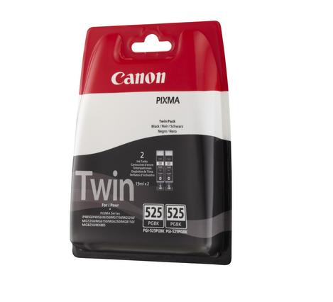 Kartuša Canon PGI-525BK (črna), dvojno pakiranje, original