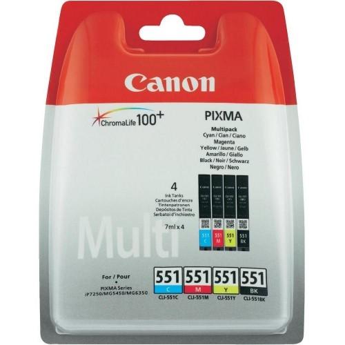 Komplet kartuš Canon CLI-551 (BK/C/M/Y), original