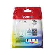 Komplet kartuš Canon CLI-8 (modra, škrlatna, rumena), original