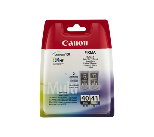 Komplet kartuš Canon PG-40 + CL-41, original