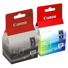 Komplet kartuš Canon PG-50 + CL-51, original