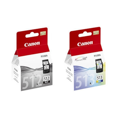Komplet kartuš Canon PG-512 + CL-513, original