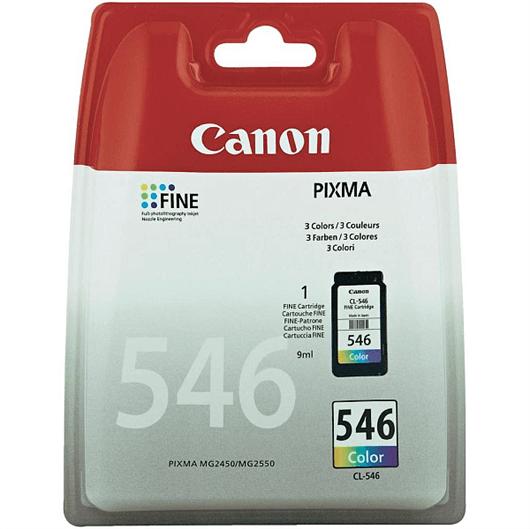 Kartuša Canon CL-546 (barvna), original