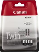 Komplet kartuš Canon PGI-5BK (črna), dvojno pakiranje, original