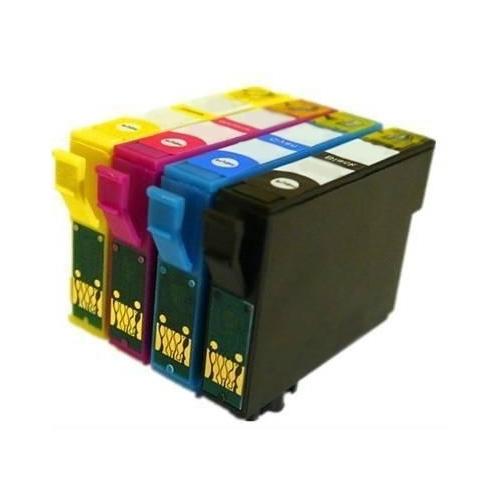 Komplet kartuš za Epson T1285 (BK/C/M/Y), kompatibilen