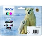 Komplet kartuš Epson 26 XL (C13T26364010) (BK/C/M/Y), original