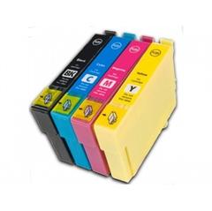 Komplet kartuš za Epson 18 XL (2BK/C/M/Y), kompatibilen