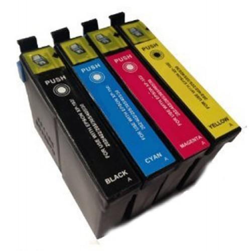 Komplet kartuš za Epson 26 XL (BK/C/M/Y), kompatibilen