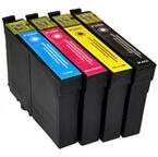 Komplet kartuš za Epson T0615 (BK/C/M/Y), kompatibilen